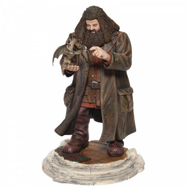 WARNER BROTHERS - Charm Figurines 'Hagrid & Norberta Masterpiece Figurine '