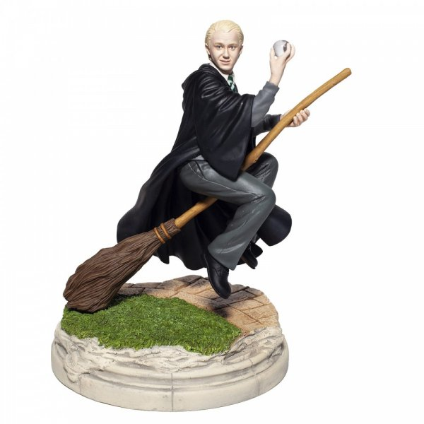 WARNER BROTHERS - Charm 'Draco Malfoy Playing Quidditch Year Two Figurine '