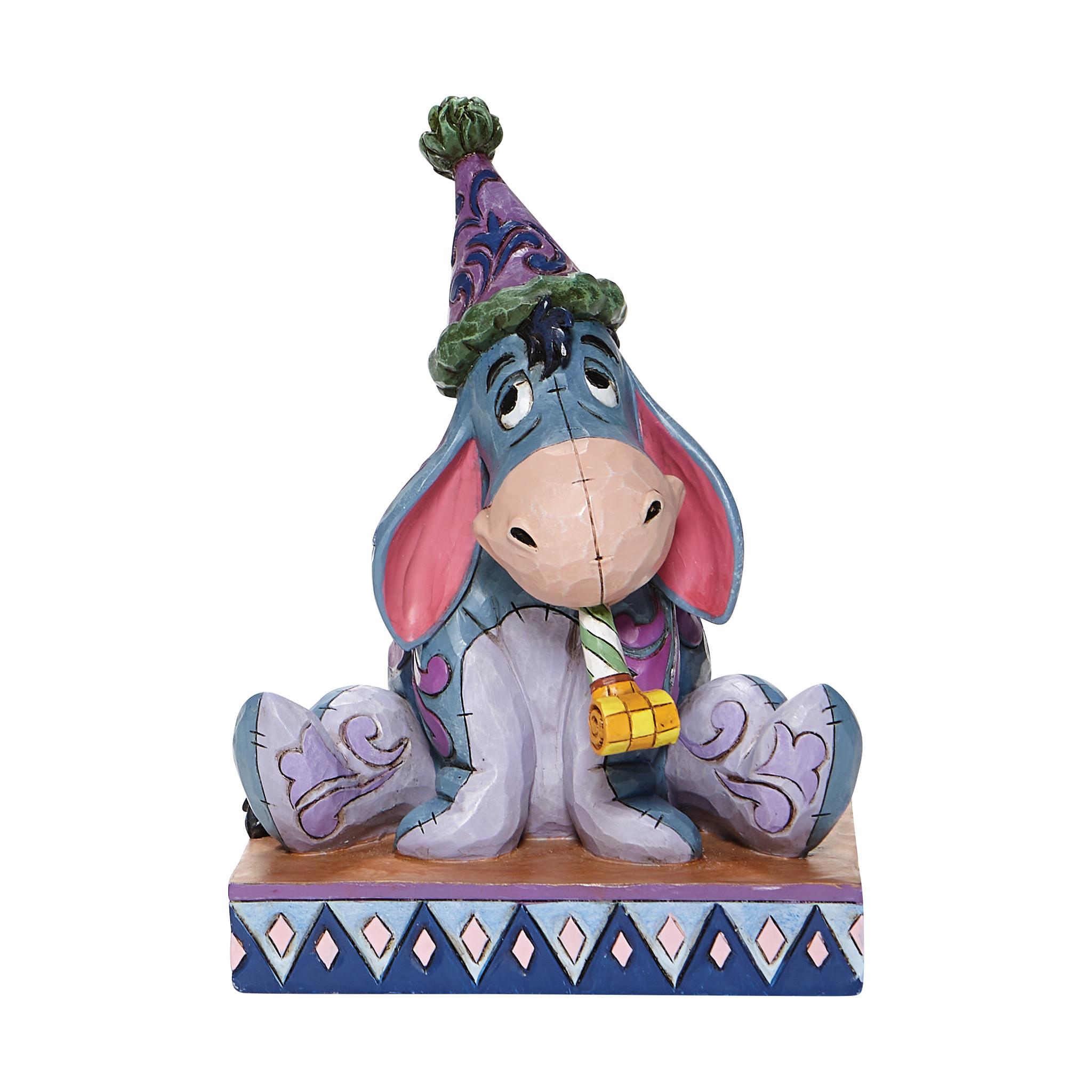 Jim Shore - General 'Birthday Blues (Eeyore Birthday Figurine) 20cm' 2021