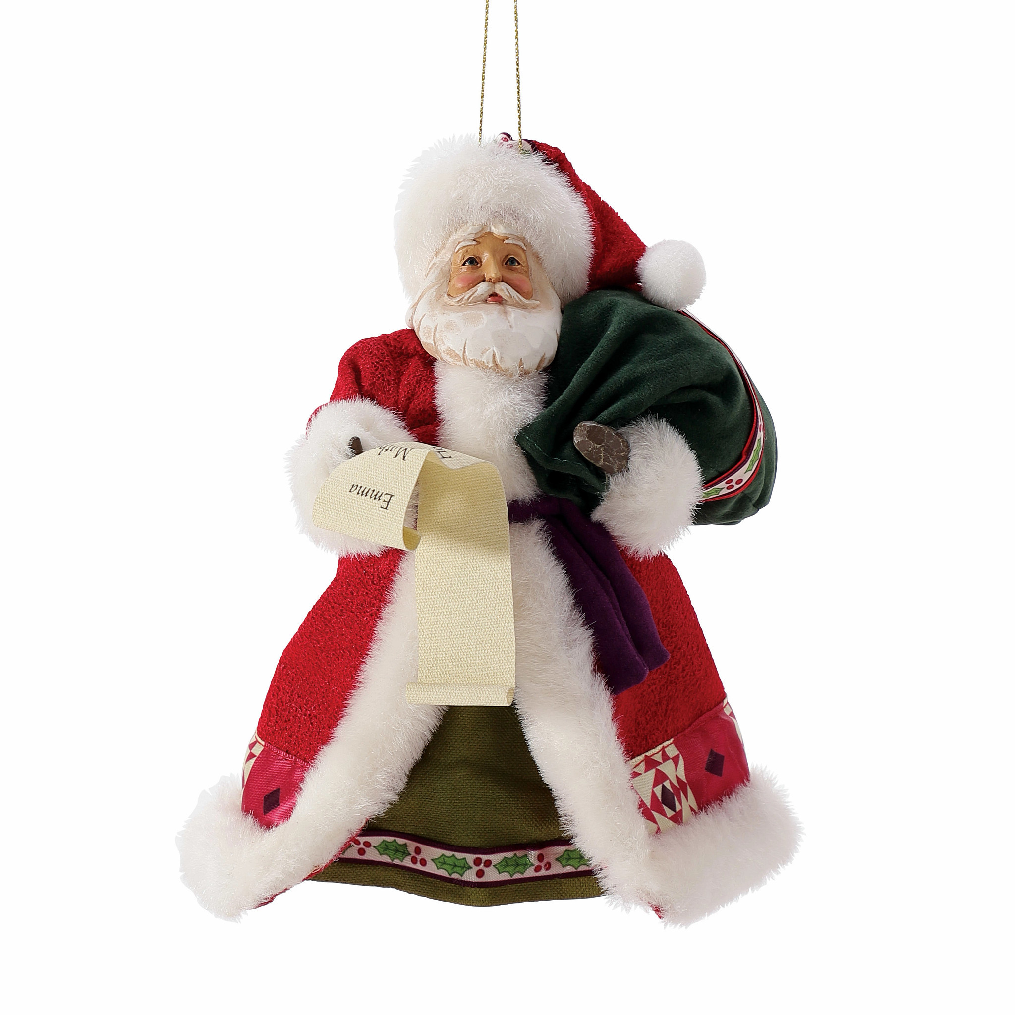 Department 56 ® - Others 'Little Old Driver (Hanging Ornament) N' 2021