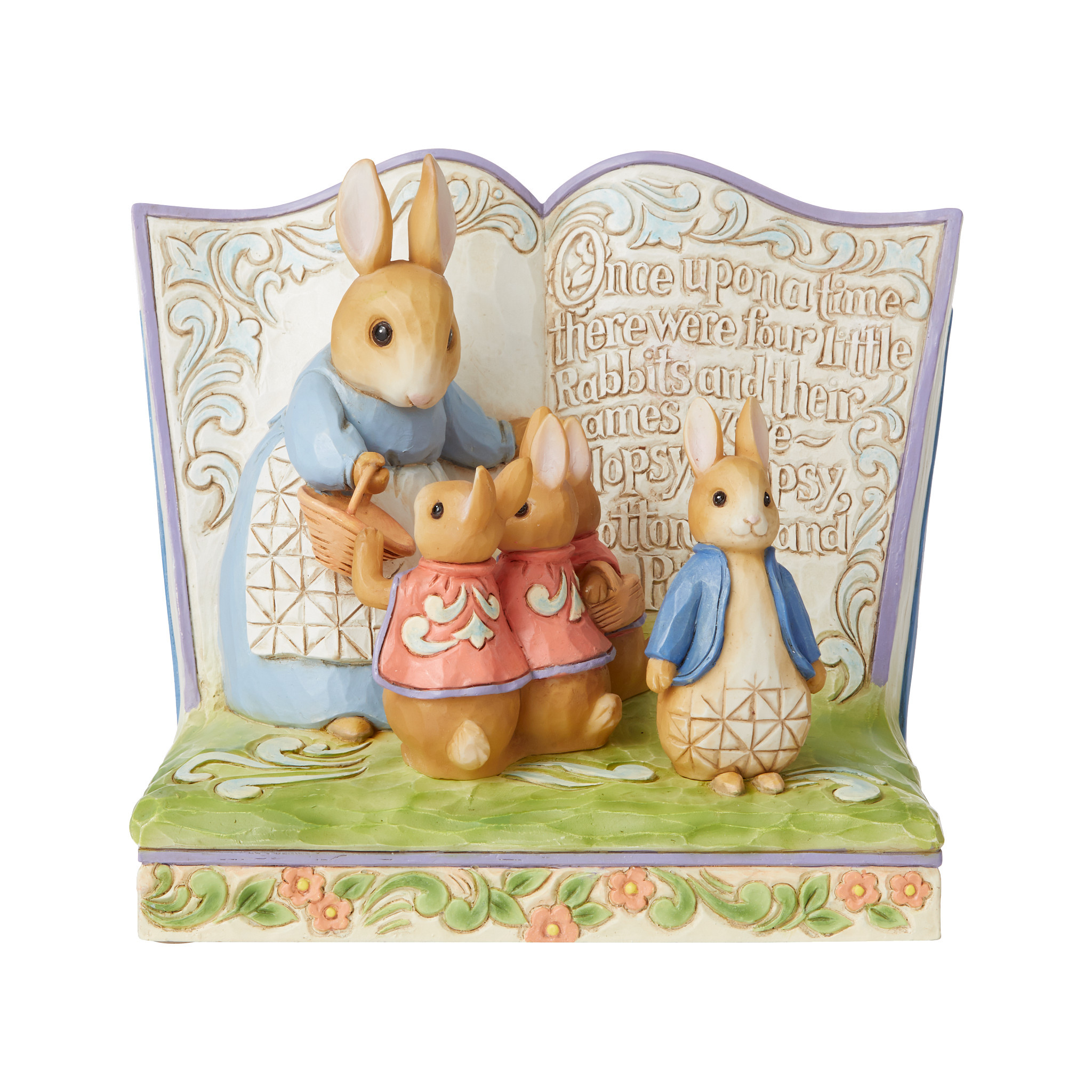Jim Shore - Figurines 'Once Upon a Time There Were Four Little Rabbits N' 2021