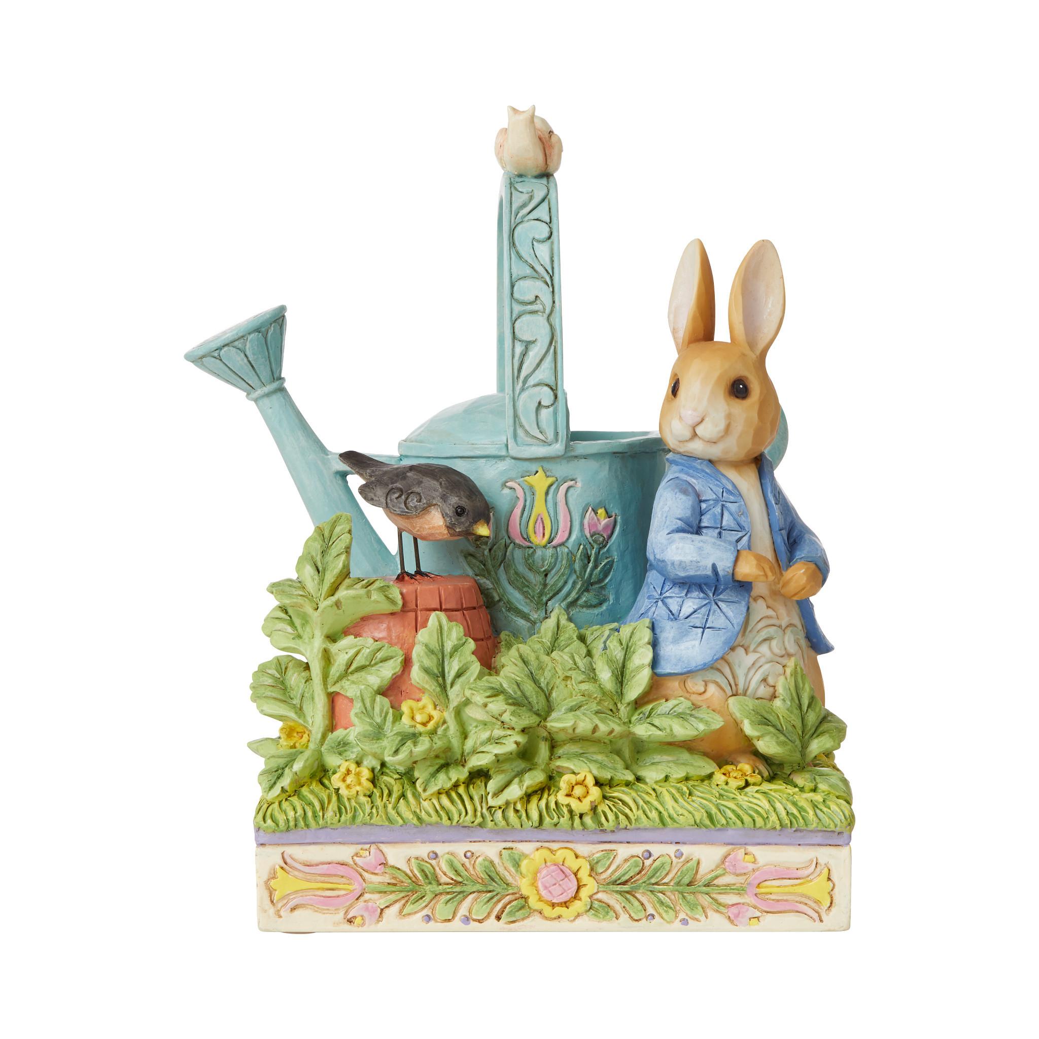 Jim Shore - Figurines 'Caught in Mr. McGregor's Garden (Peter Rabbit Figurine) N' 2021