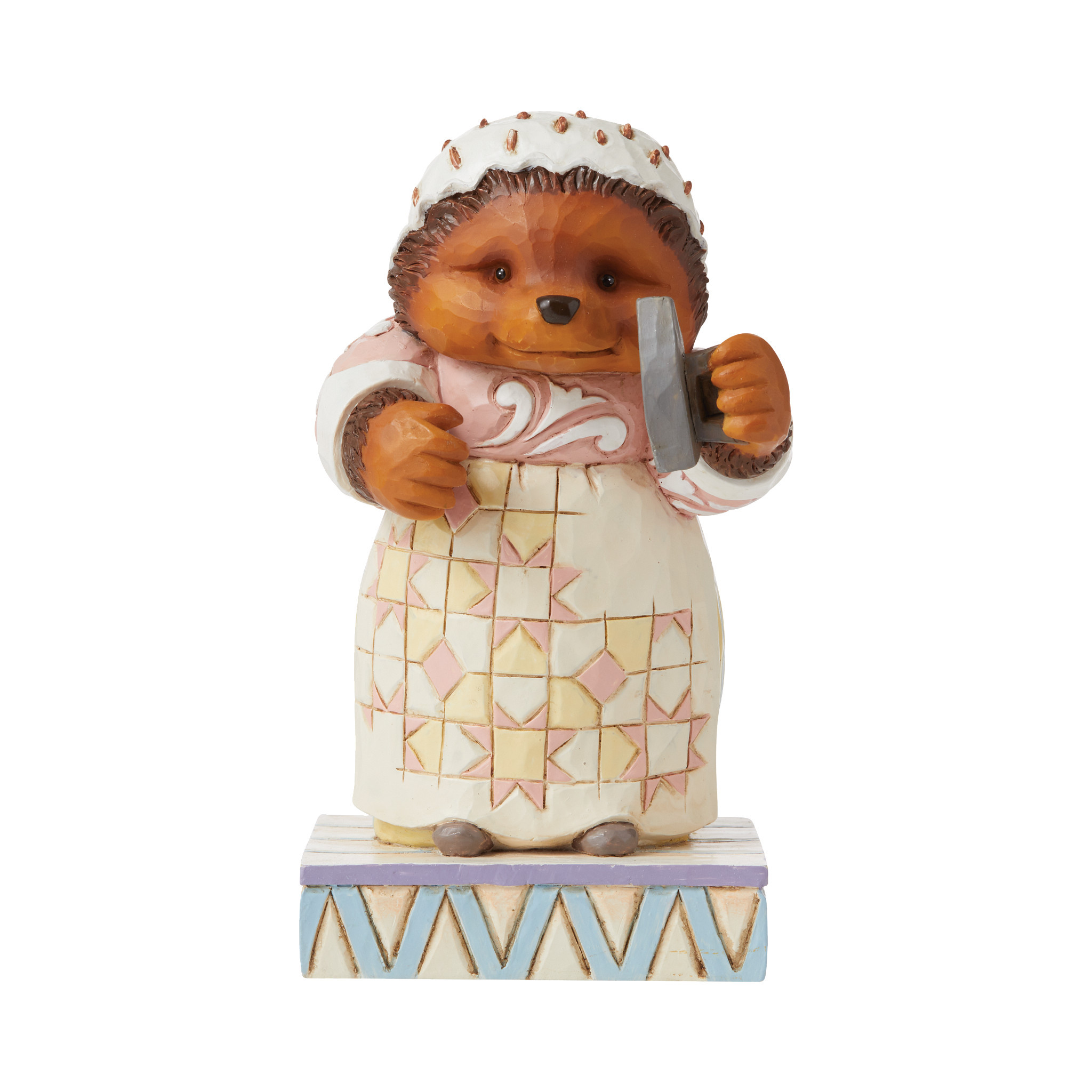 Jim Shore - Figurines 'Lily-white and Clean, Oh (Mrs. Tiggy-winkle Figurine) N' 2021