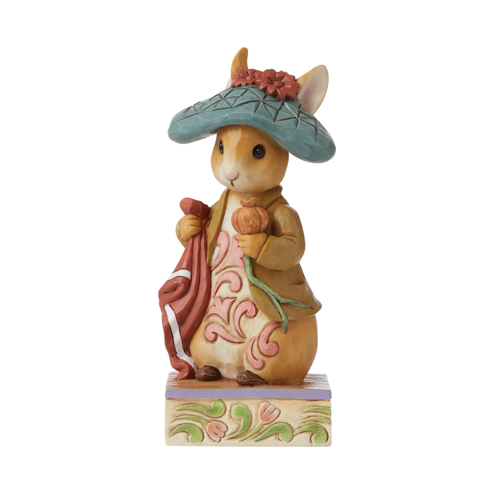 Jim Shore - Figurines 'Nibble, Nibble, Crunch! (Benjamin Bunny Figurine) N' 2021