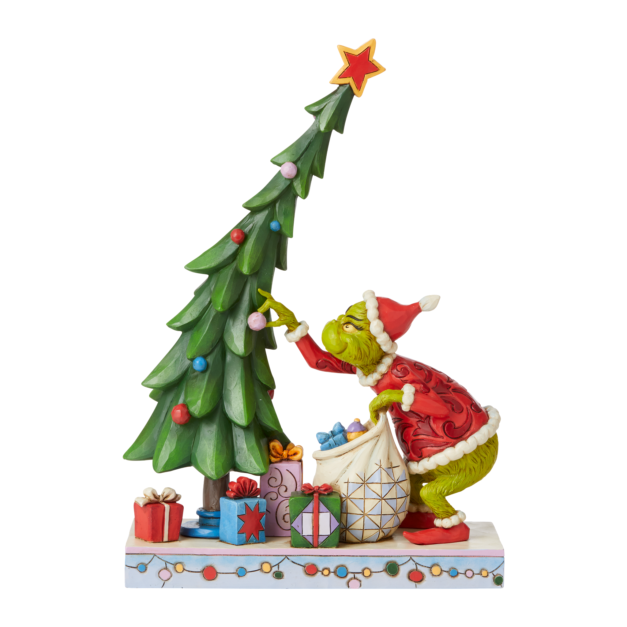 Jim Shore - Figurines 'Grinch Undecorating Tree N' 2021