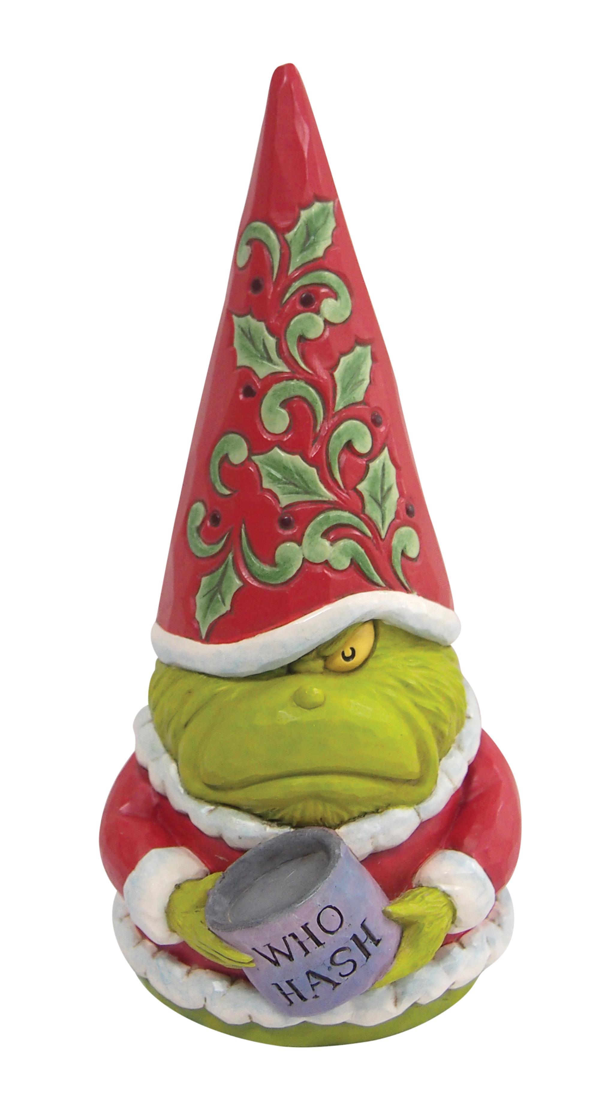 Jim Shore - Figurines 'Grinch Gnome 3 N' 2021