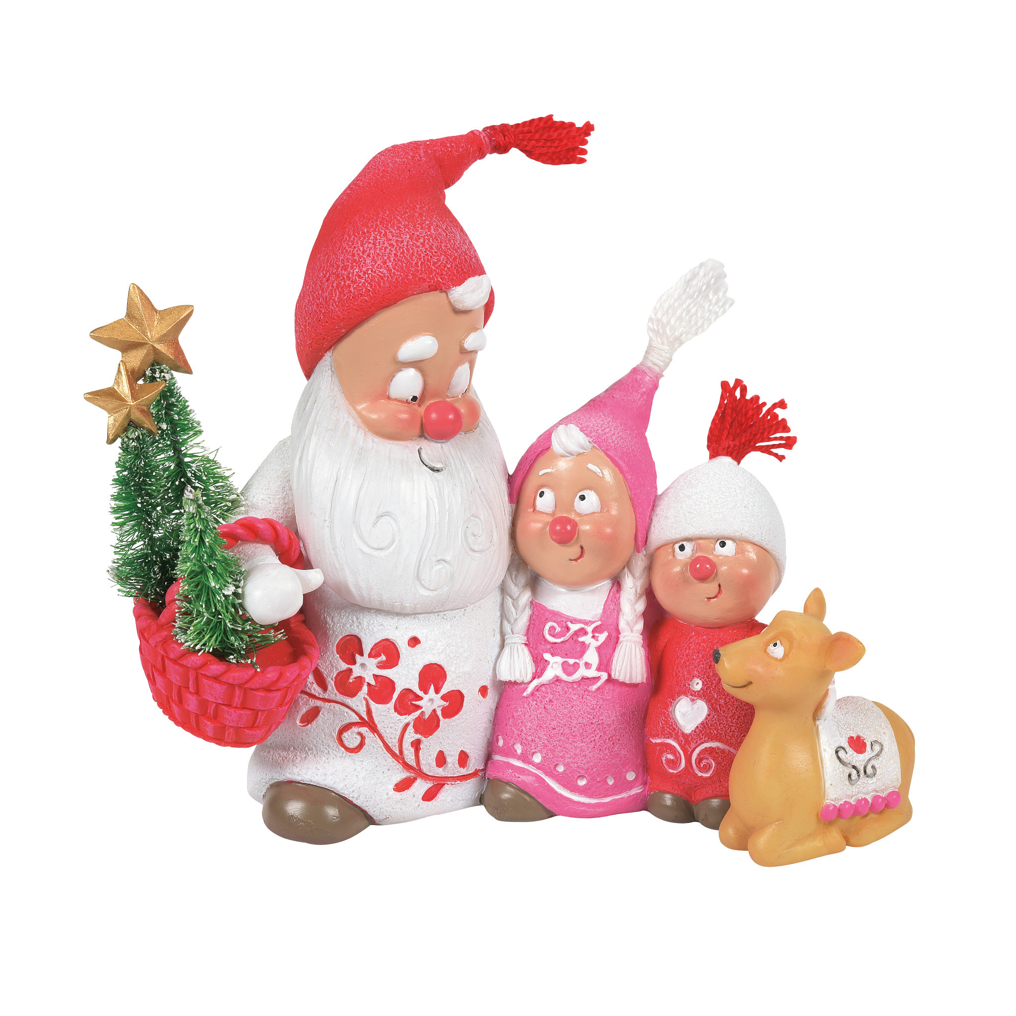Department 56 ® - Figurines 'Snow Gnome Family N' 2021