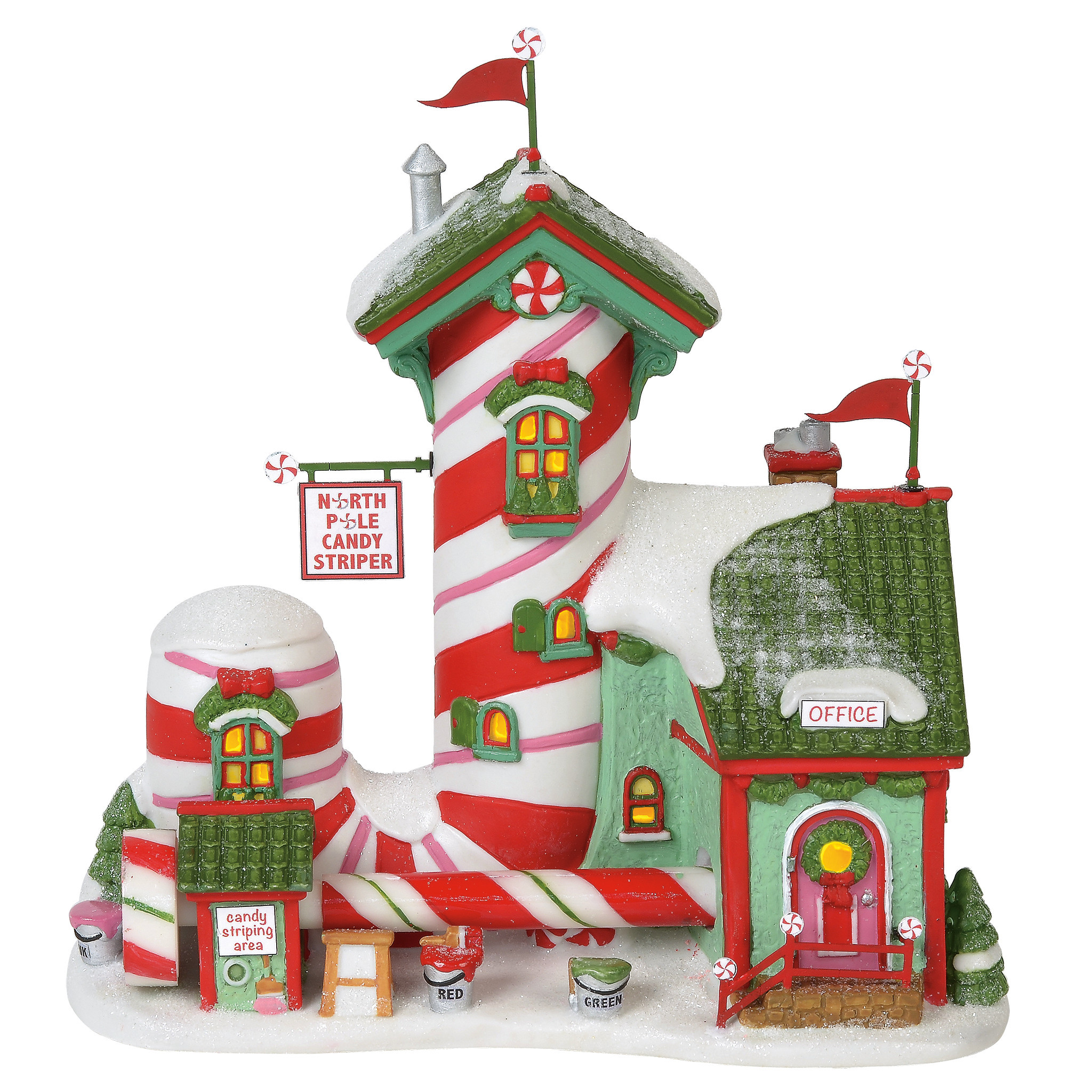 Department 56 ® - Buildings 'North Pole Candy Striper (Europe) '