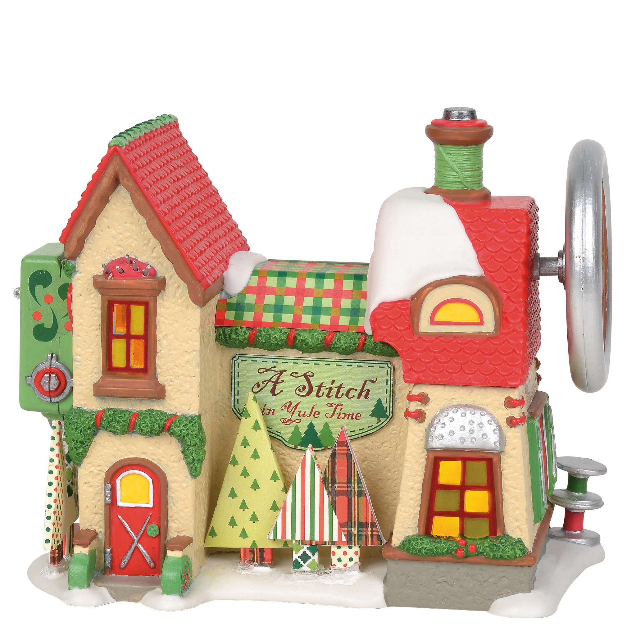 Department 56 ® - Buildings 'A Stitch in Yule Time (Europe) '