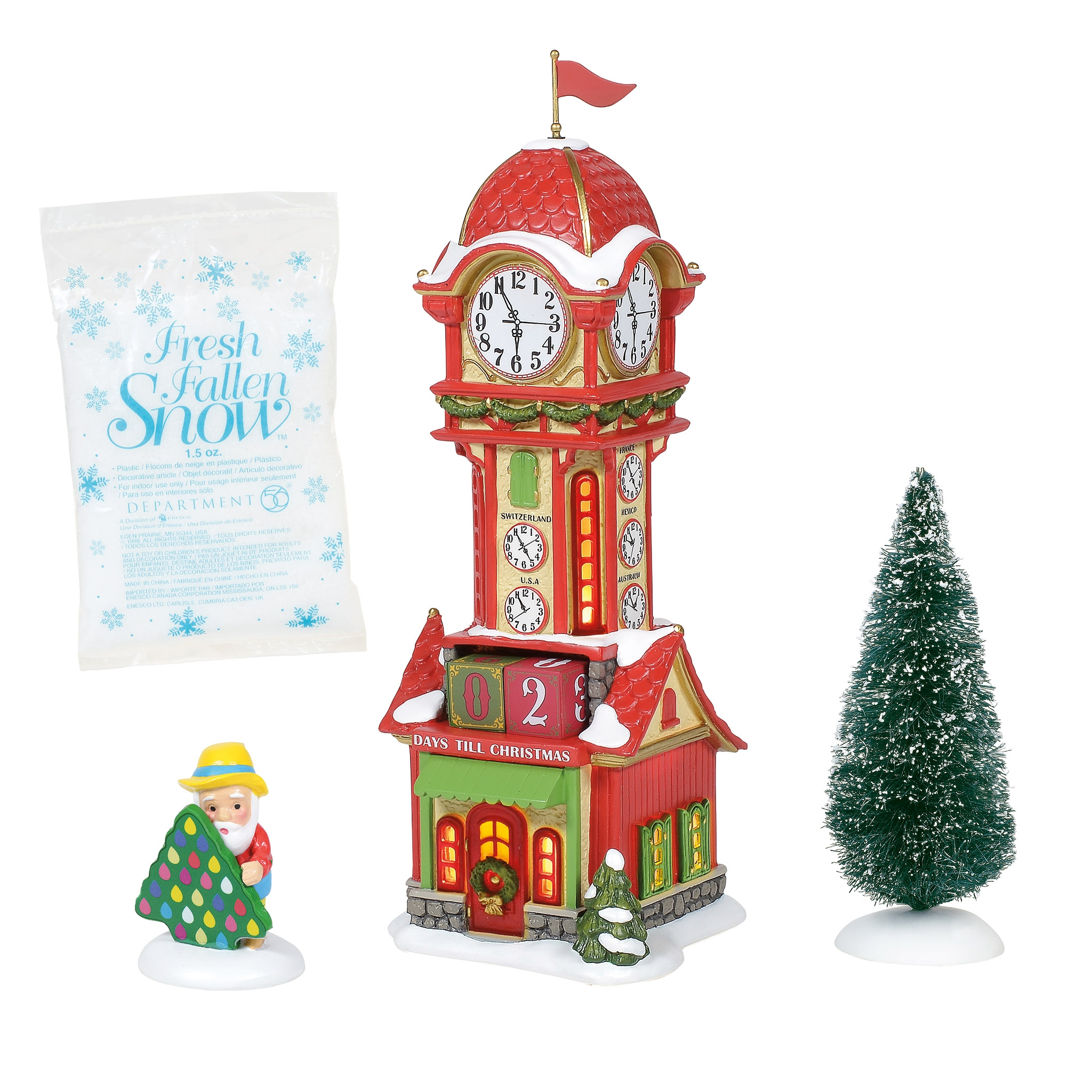 Department 56 ® - Buildings 'Christmas Countdown Tower (Europe) '