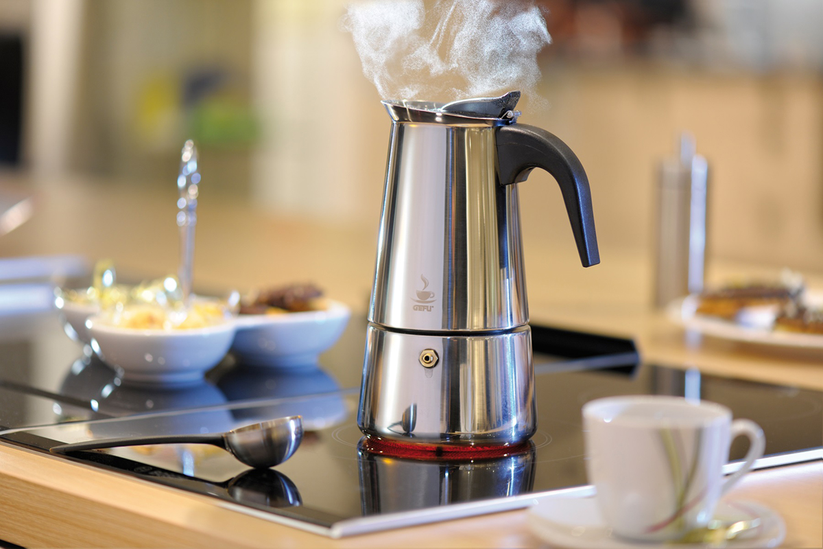 GEFU - 'Espressokocher, EMILIO, 6 Tassen - Kaffee   Tee'