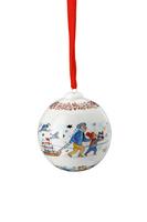 Hutschenreuther Sammelthemen 21 'Porzellankugel - Weihnachtskugel 2021 Jahreskugel'