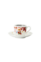 Hutschenreuther Christmas Songs 'Espresso cup 2 pcs. - Let us be happy.. '