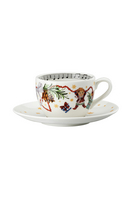 Hutschenreuther Christmas Songs 'Cappuccino cup 2-pcs. - Let us be happy.. '