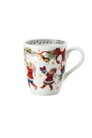 Hutschenreuther Christmas Songs 'Mug with handle - Let us be happy.. '