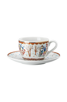 Hutschenreuther Collectors items 21 'Cappuccino cup 2-pcs. - Christmas gifts Annual cup'
