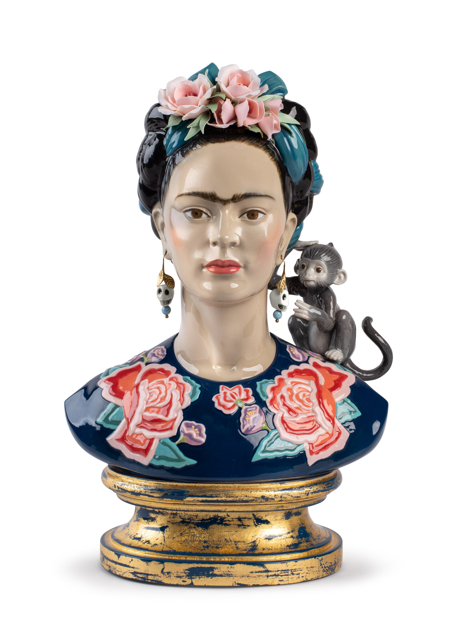 LLADRO® - 'Frida Kahlo (blue) - Base included' Limited edition of 250 pieces 2022