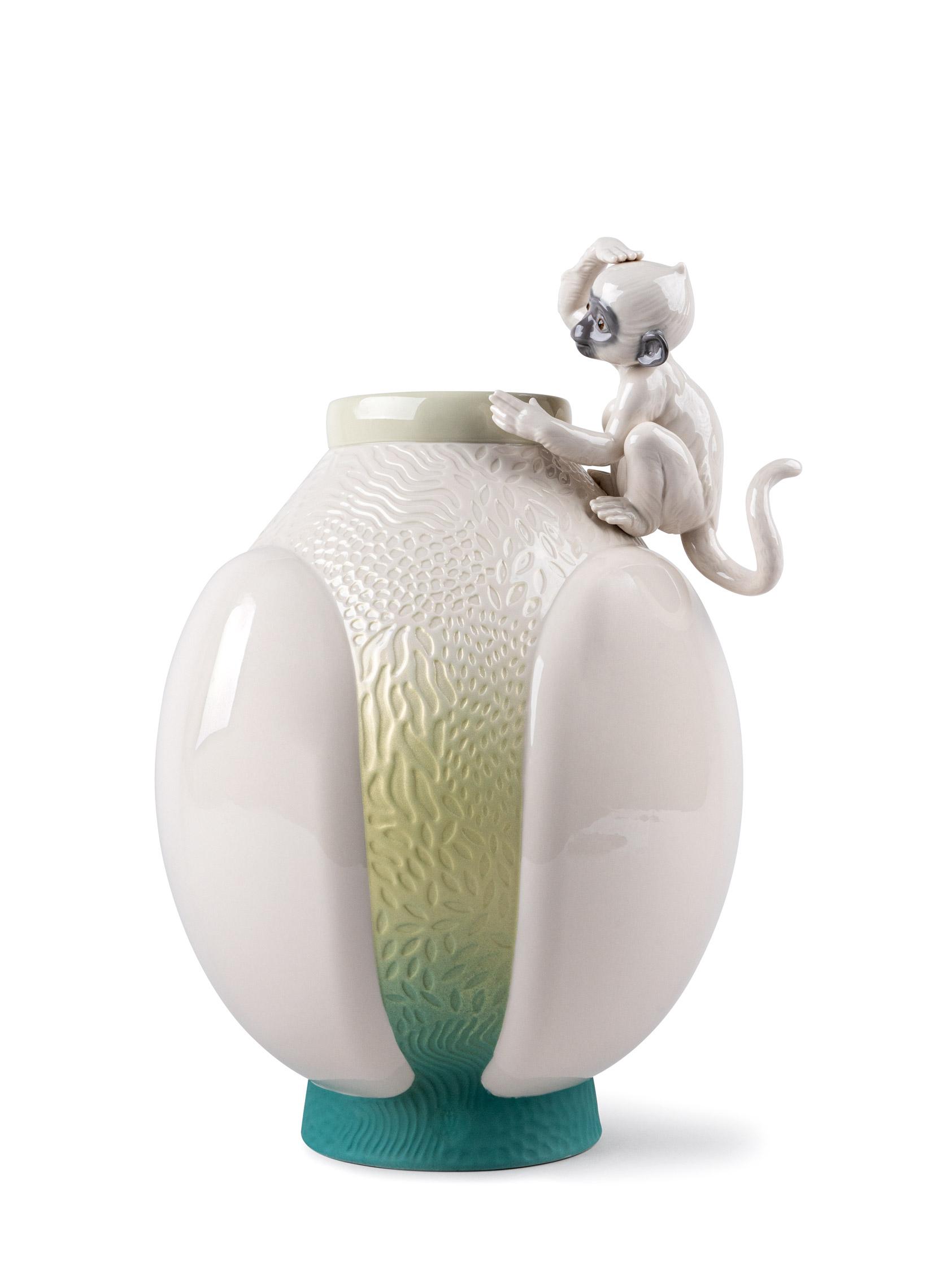 LLADRO® - 'Monkey vase' 2021 !