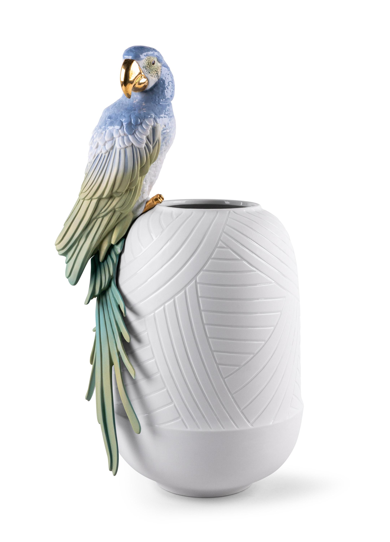 LLADRO® - 'Macaw bird vase' 2021 !
