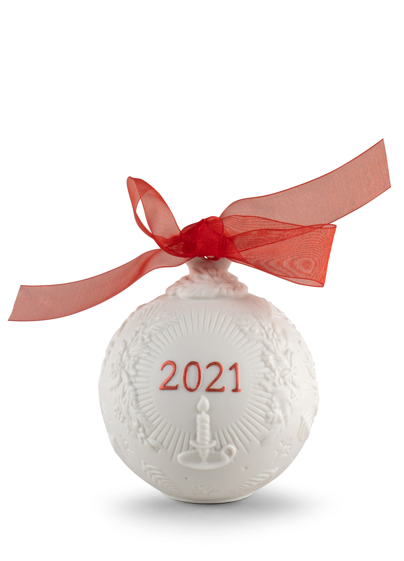 LLADRO® - '2021 Christmas ball (Re-Deco red)' 2021 !