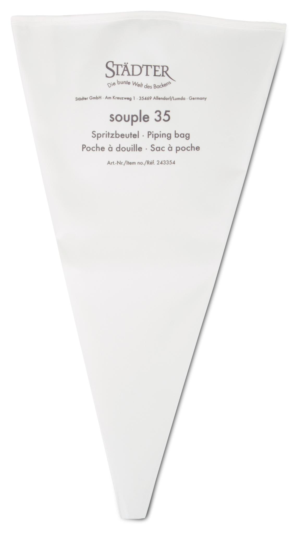 Städter - 'BACKZUBEHÖR-Profi-Spritzbeutel 35 cm Weiß souple'