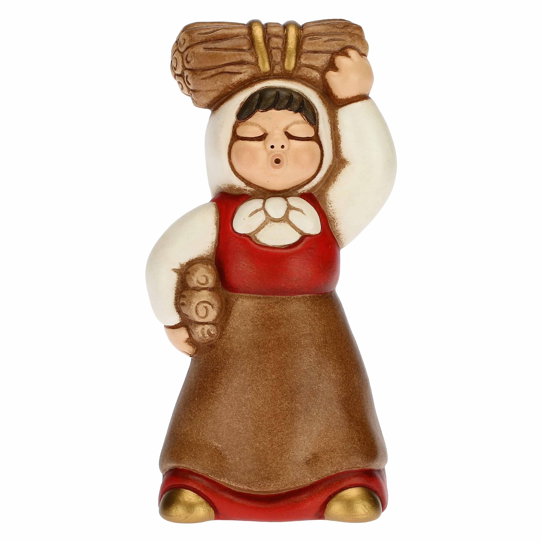 THUN Krippe 'Frau mit Reisigbuendel - 6,4x6,5x13,3 cm'
